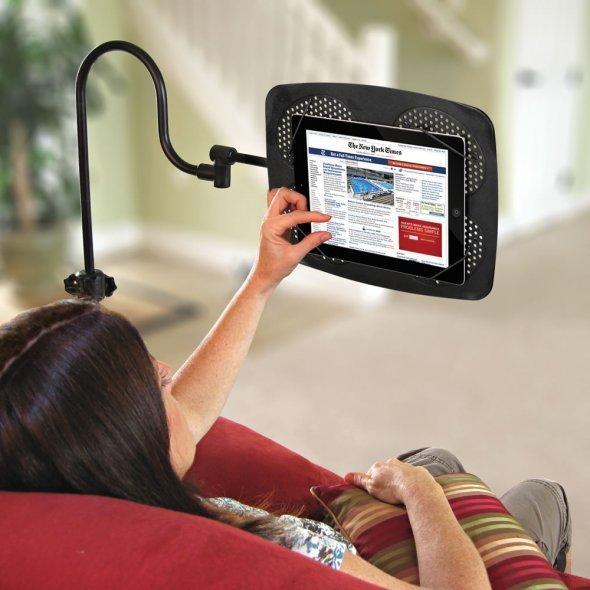 落地式iPad可调节支架