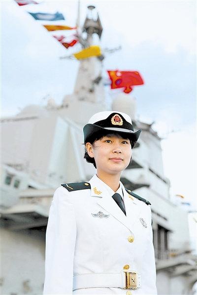 """中国首艘航母辽宁号上女兵顶起""""半边天""""! - yfdgad - yfdgad的博客"""