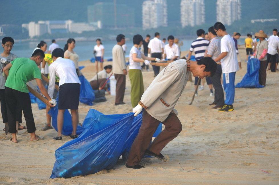 长假竟成清洁工人噩梦 景区垃圾遍地何时休? - 如是 - 如是博客