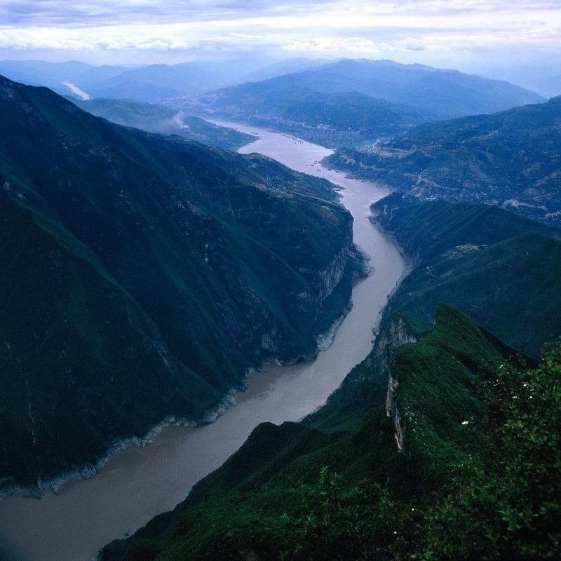 优秀作品-壮丽的长江三峡-李金龙