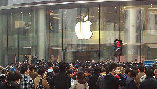 5103754 1200x1000 0 Beijing Apple store has successful opening day