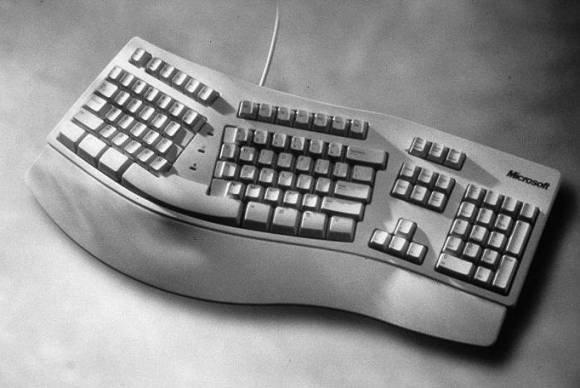 1994年微软推出的Natural键盘