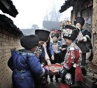 天下凤凰摄影大展摄影作品 银凤凰收藏作品 苗寨喜事(组2) 曾锦文
