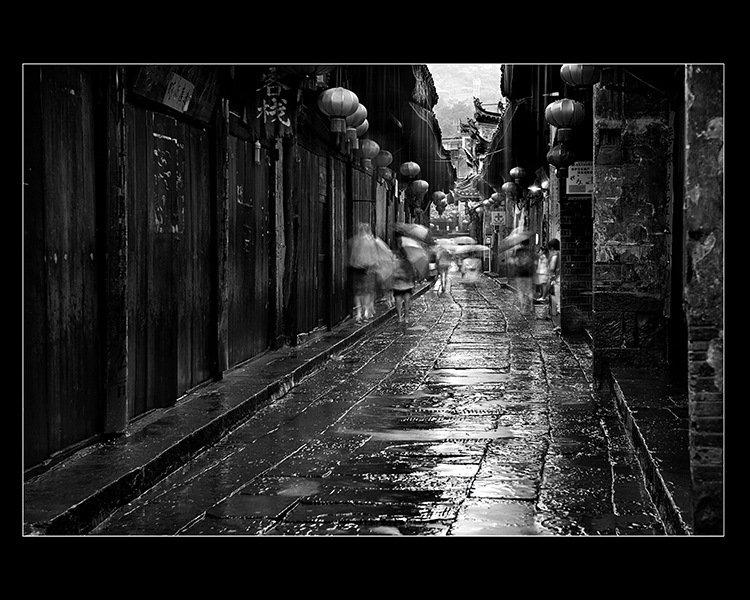 古城烟雨(组1)-施子飞