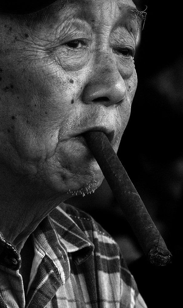 人物肖像——黄永玉(组)-张瑾-图6:比我老的老头