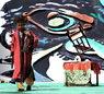 神秘湘西民俗摄影大展摄影作品 湘西巴代绝技(组) 明克林 组图2—斜立板凳