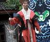 神秘湘西民俗摄影大展摄影作品 湘西巴代绝技(组) 明克林 组图4—筷子插米提碗