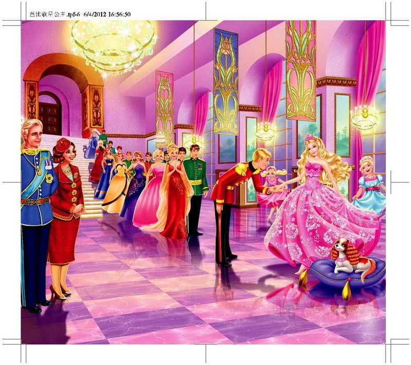 芭比 barbie 芭比 公主 三 剑客 特