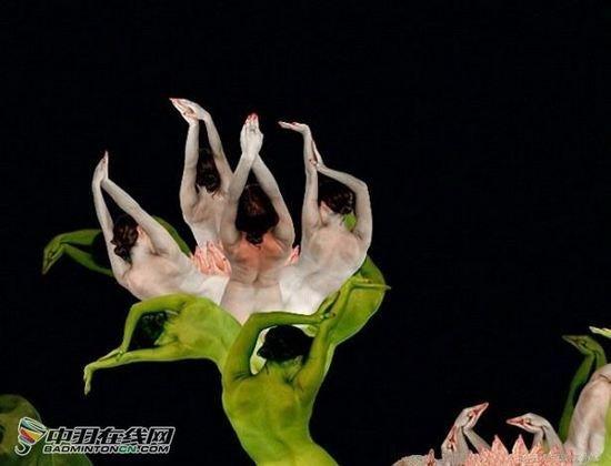 东方网-东方游戏-史上最强大的人体艺术