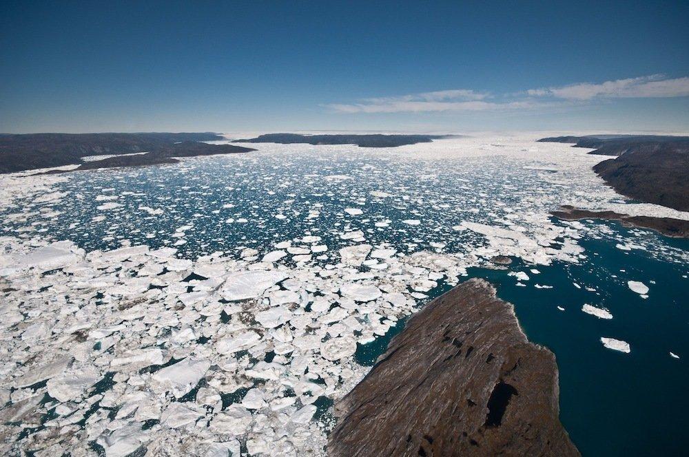 图解 世界各地因气候变暖而消融的冰川