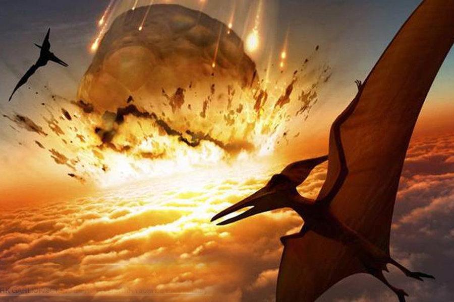 """地球历史上著名的""""五次生物大灭绝""""事件 - 雪花白银*秦雨 - 歆如意"""