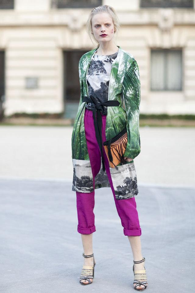 2013春夏服装流行绿色闻瑞服装设计培训预报 - 闻瑞服装培训 - 闻瑞服装运营培训谷