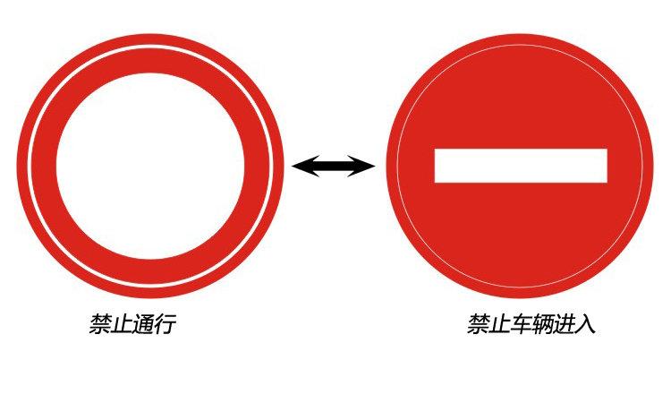 组图 辨识易混淆交通标识 会车顺序看箭头