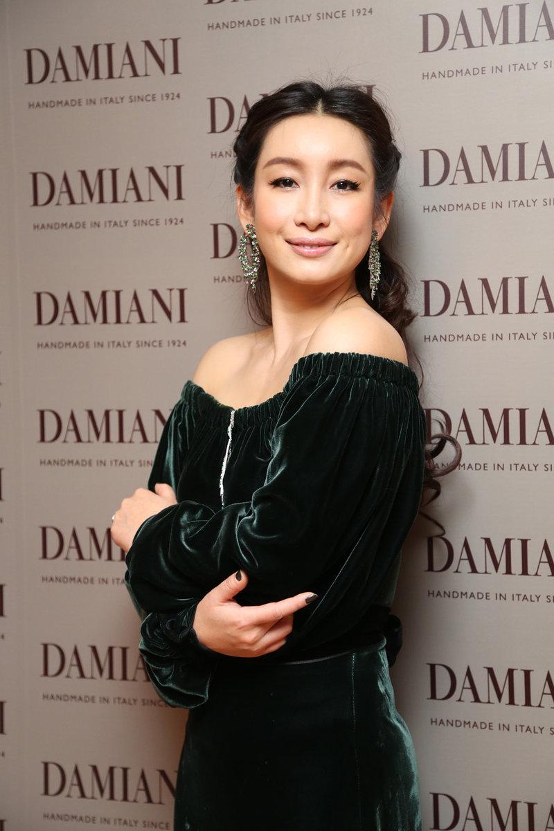 秦海璐助阵意大利顶级珠宝品牌DAMIANI新店开业
