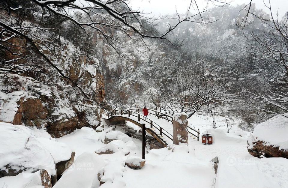 山东崂山雪景. - yfdgad - yfdgad的博客