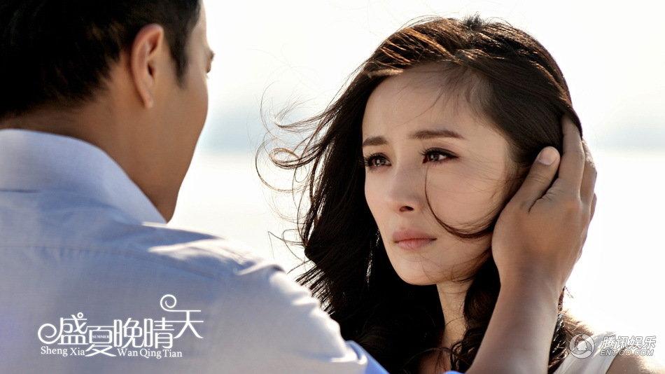 《盛夏晚晴天》首播在即 杨幂刘恺威深情对望