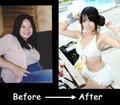 台妹为COS减肥20公斤