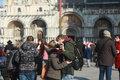 威尼斯狂欢节进入最后一天 各地游客盛装出席