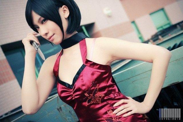 VOL.高还原《生化危机》艾达·王COSPLAY - 樱田优姬 - 二次元会馆