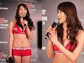 日本UFC女郎芳容似柳岩