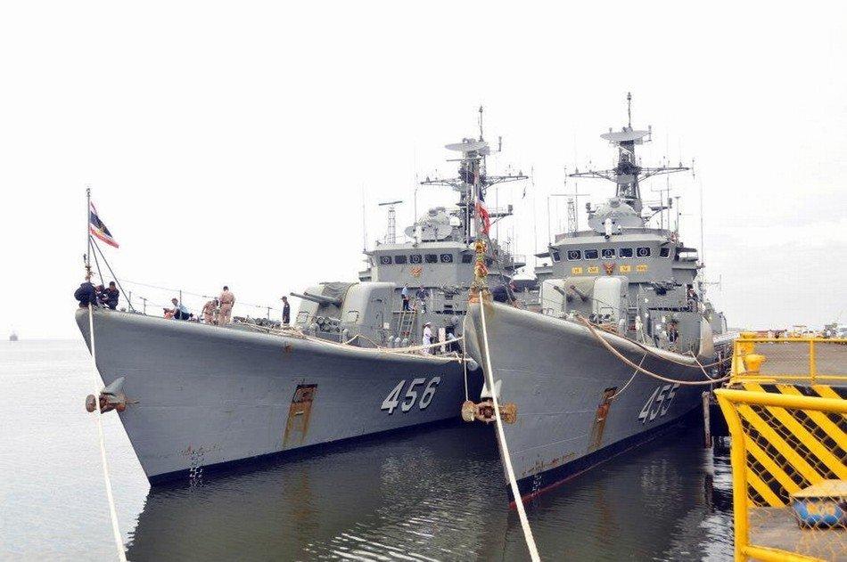 泰国海军访问菲律宾军舰全是中国造(组图)