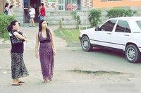 蒙古国美女街拍