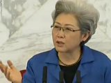 傅莹:中国军费增长出于和平目的