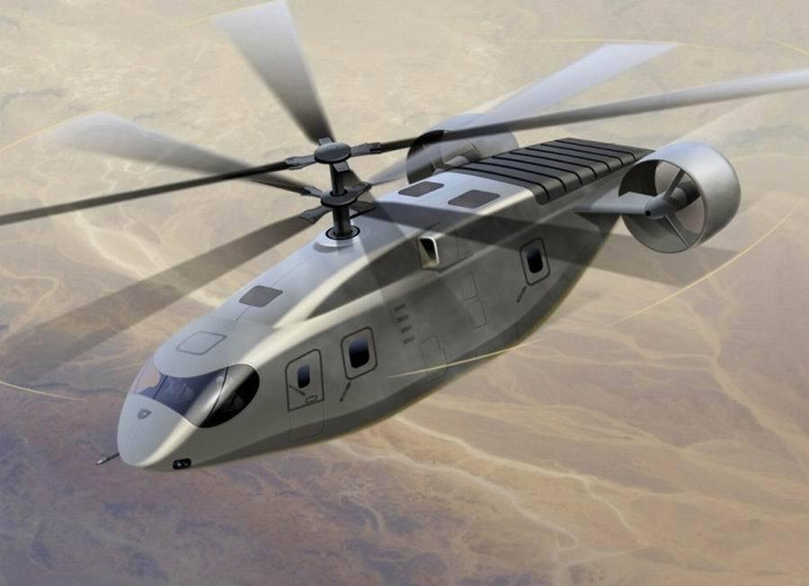 西科斯基打造未来高速直升机 时速超460公里