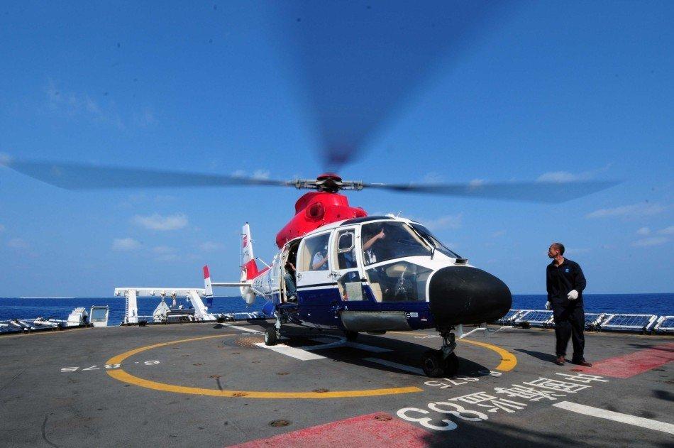 中国海监舰机编队开始巡查西沙诸岛(组图) - 春风 - 多彩贵州