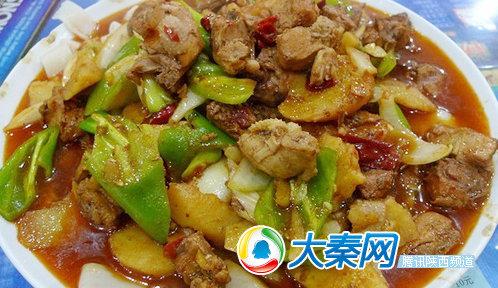 胡杨林新疆餐厅地址:西安高新区光华路72号推荐理由:和别家大盘鸡
