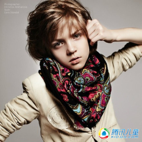Vladislav Voronov: stylish Russian model boy