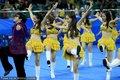 组图:乒球世界杯啦啦队骑马舞嗨翻全场