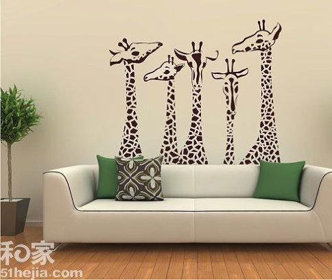 ,很好的和沙发的造型配合在了一起.色彩上也和整个客厅相一致.