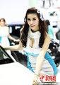 泰国国际车展举行 性感车模上演美色诱惑
