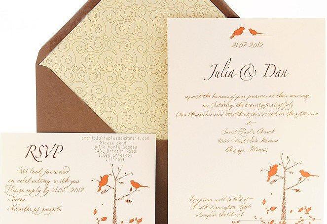 不同色系婚礼邀请函