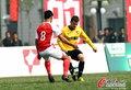 高清:北理工3-0湖南湘涛 球员破门双手指天