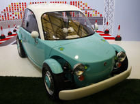 车也能换衣服-丰田CAMATTE概念车