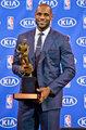 詹姆斯正式获常规赛MVP