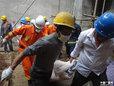高清:西安地铁3号线塌方5人被埋 有两人遇难
