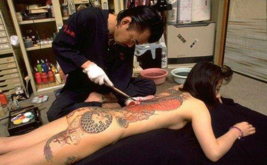 图揭日本的纹身艺术