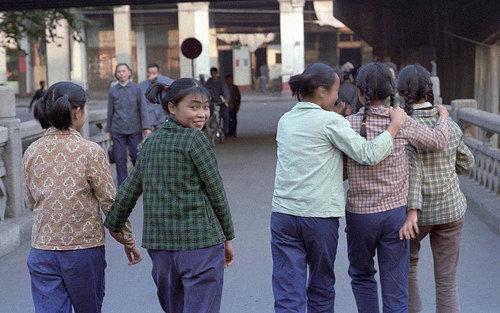一个美国人拍摄的30年前的中国