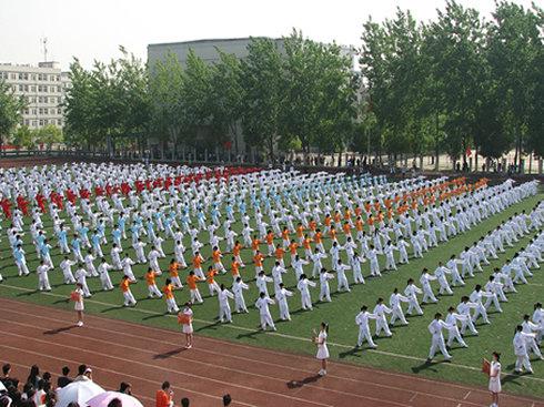 武汉轻工大学校园景色