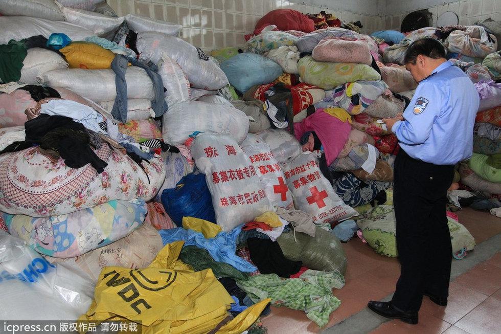 珠海旧衣回收厂现红十字会编织袋