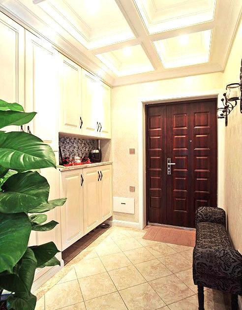 欧式古典家居装修图:20万打造105平欧式古典奢华家