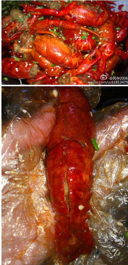 ...:汉阳阳新路和拦江路交汇处.八钱一个的油焖大虾让人垂涎欲滴,...图片 155443 434x899
