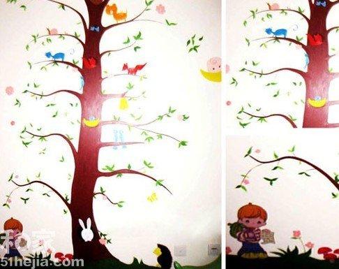 每个孩子的小天地里,都可以选择在墙面涂刷上.-4大空间17个唯美