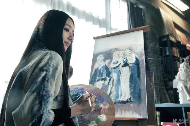 郭碧婷凭借 小时代 南湘一角 获封萌女神图片