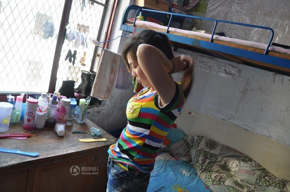中国人的一天:卫校女生的真实生活