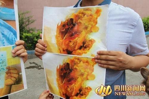 泸州市佳乐广场肯德基店用餐,当时点了50多元食物,两人在吃辣高清图片