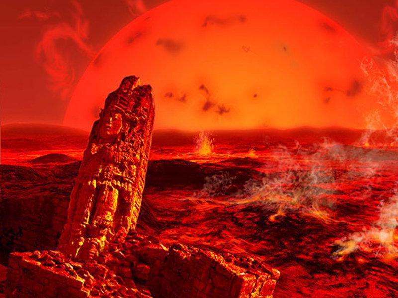 太阳变成一颗红巨星